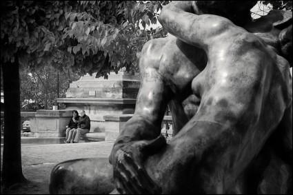 Paris, the kiss