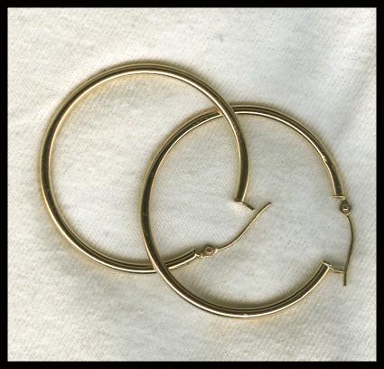 Product Work   Golden Earrings