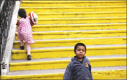 Yellow Steps, San Miguel