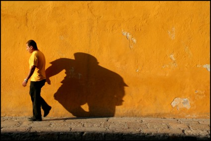 Yellow wall, San Miguel