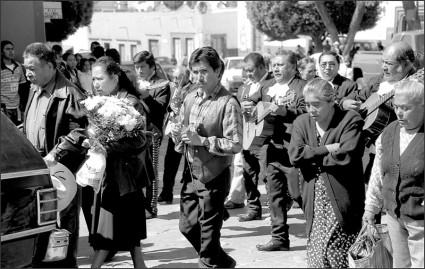 2005, Funeral procession, San Miguel, Mexico