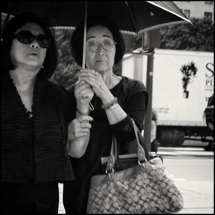 New York, Blind Woman