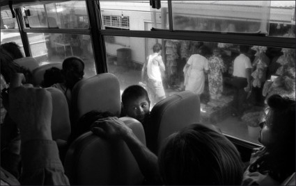 1993, Child on bus, Costa Rica