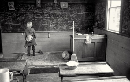 School House Eagle Island, Maine, 1980